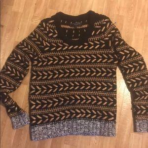 Rag & Bone black and gold sweater